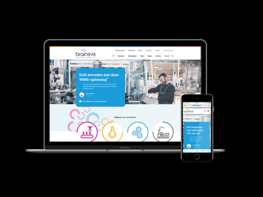 Een heldere website voor een complex product