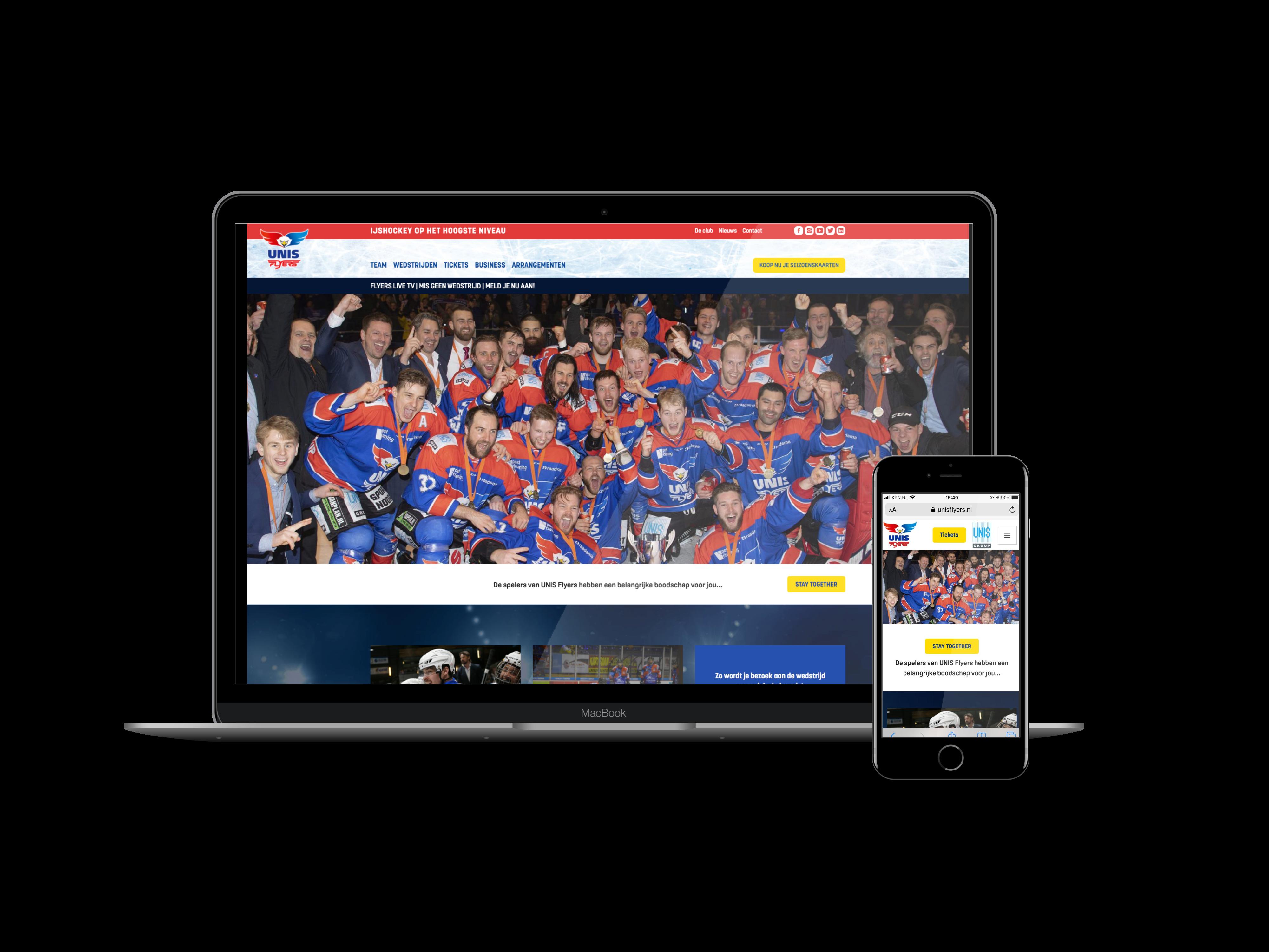 unis flyers website