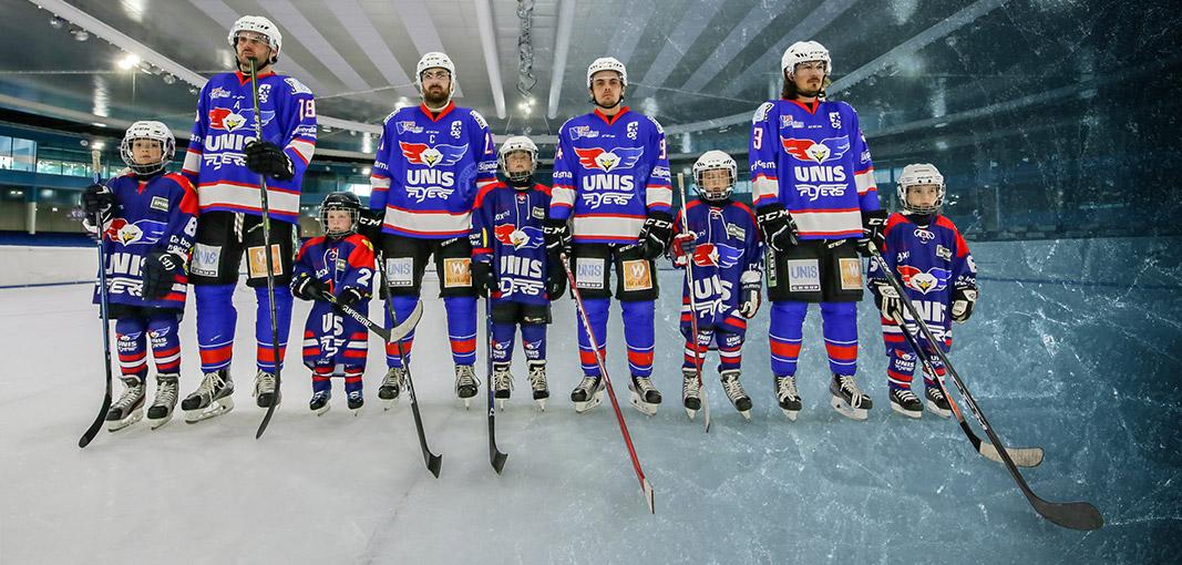 Een nieuw online tenue voor UNIS Flyers