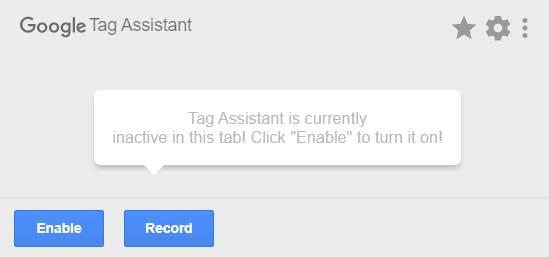 Google Tag assistent