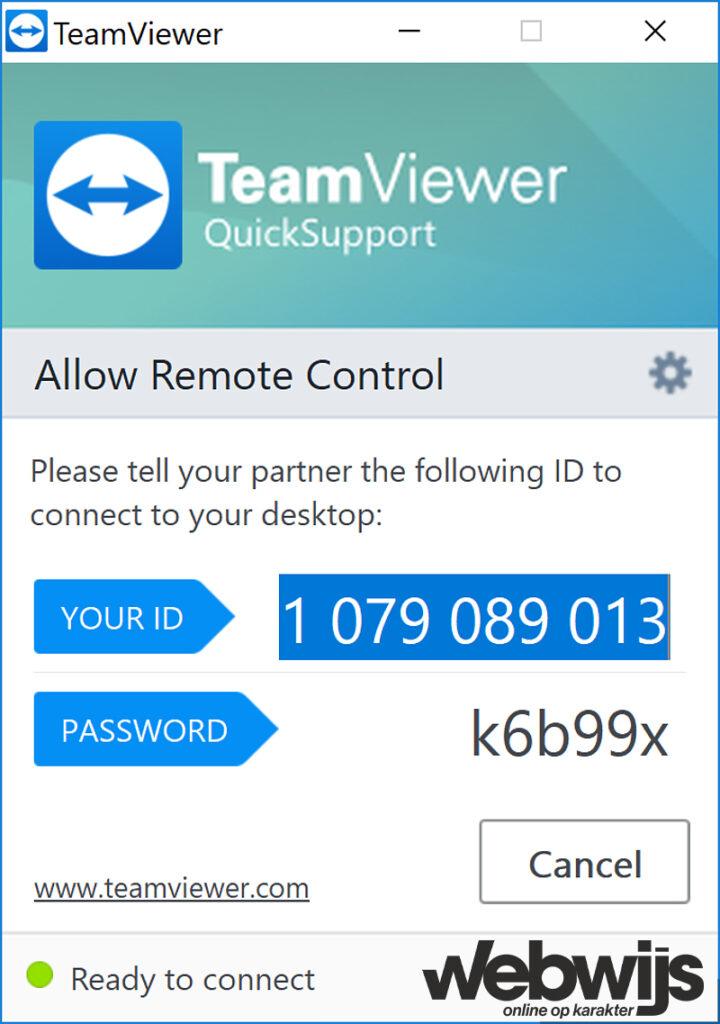 Teamviewer-quicksupport-webwijs